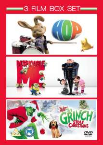Hop / Despicable Me / The Grinch