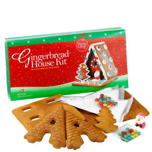 DIY Gingerbread House Kit with Sugar Figures