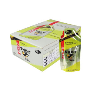 Clif Shot Citrus Energy Gel - Box of 24