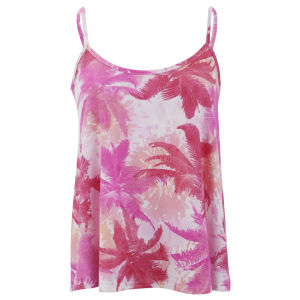 Influence Women's Palm Print Top - Multi