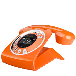 Sagemcom Sixty Digital Cordless Phone - Orange