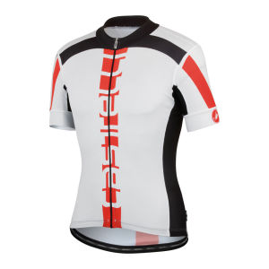 Castelli Men's Aero Race 4.0 SS FZ Cycling Jersey