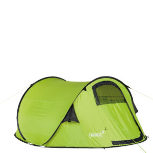 Gelert Quickpitch DLX Tent - Lime