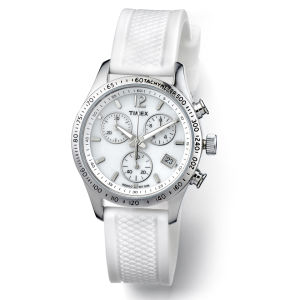 Timex Silicone Watch - White