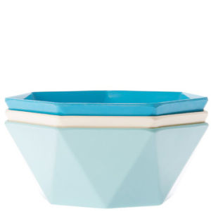 Bowl Yeddi 3 Assorted Cold Colours Melamine