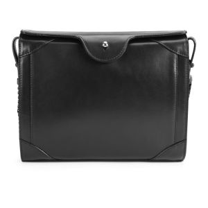 Carven Leather Classic Cross Body Bag - Black