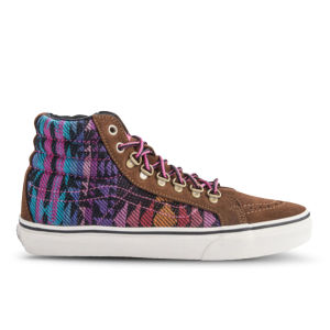 Vans Sk8-Hi Slim Trainers - Monks Robs/Magenta