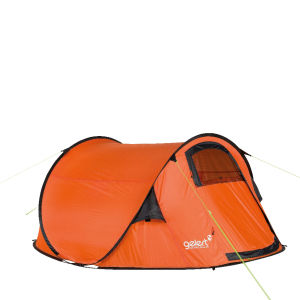 Gelert Quickpitch DLX Tent - Red Orange