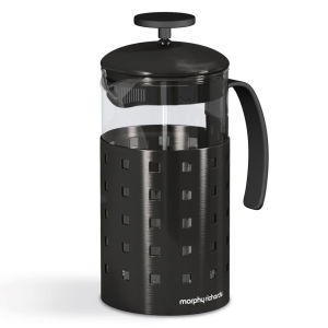 Morphy Richards Accents 8 Cup Cafetiere - Black