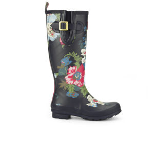 Joules Women's Welly Print Wellies - Navy Bouquet