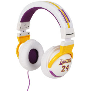 Skullcandy Hesh Headphones NBA Series - Lakers White Kobe Bryant