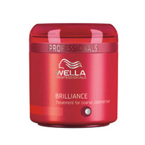 Wella Professionals Brilliance Kur für krauses, coloriertes Haar 500ml