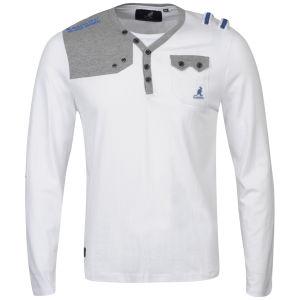Kangol Men's Fez Jersey Long Sleeved T-Shirt - White