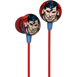 iHip DC Comics Superman Printed Earphones