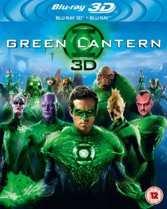 Green Lantern 3D (Includes 2D Version)