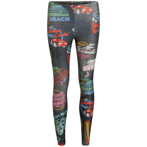 We Are Handsome Women's The Avenue Patterned Leggings - Avenue