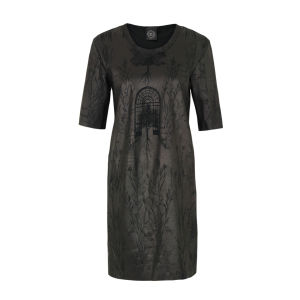 Draw In Light Women's 5 Gloss Tee Dress - Black