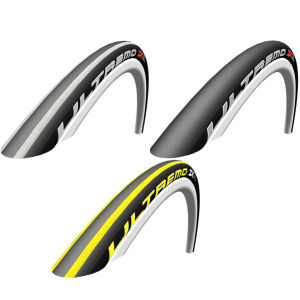 Schwalbe Ultremo ZX Clincher Road Tyre Black 700c x 23mm + FREE Inner Tube