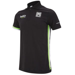Belkin Team Cotton Polo Shirt - Black/Green 2014
