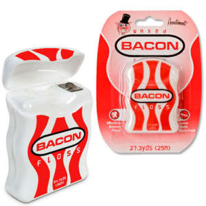 Bacon Flavoured Dental Floss