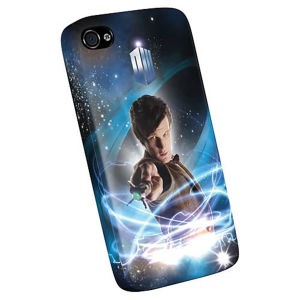 Doctor Who iPhone 4 Plastic Cover - Eleventh Doctor