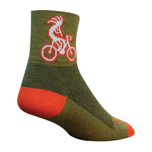 SockGuy Kokopelli Cycling Socks