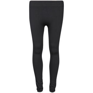 Chickster Women's Basic Plain Leggings - Black