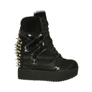 Jeffrey Campbell Women's Rodman Spike Trainers - Black