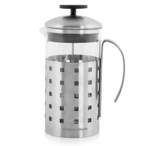 Morphy Richards Accents 8 Cup Cafetiere - Stainless Steel