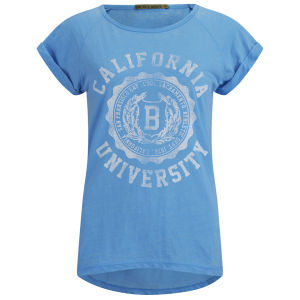 Brave Soul Women's Cali T-Shirt - Blue