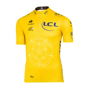 Le Coq Sportif Tour de France Leaders Official Jersey - Yellow
