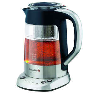 Breville Stainless Steel and Glass Tea Maker Kettle