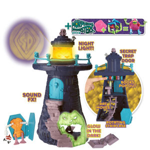 Scooby Doo - Morphing Monsters Crystal Cove Frighthouse Playset