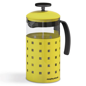 Morphy Richards Accents 8 Cup Cafetiere - Yellow