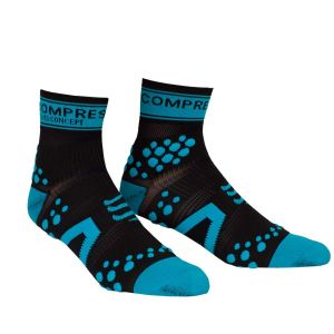 Compressport Pro Racing Socks - Run (HighCut) - Black/Blue