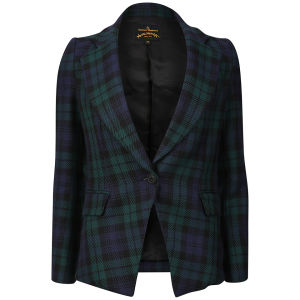 Vivienne Westwood Anglomania Women's Solo Jacket - Blue/Black/Green
