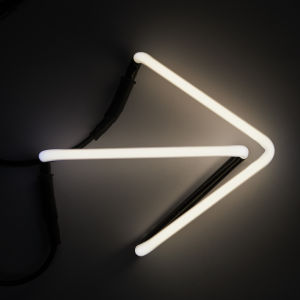Seletti Neon Font Shaped Wall Light - Arrow