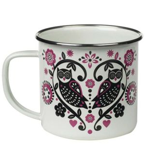 Folklore Enamel Cup