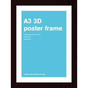 Black Frame A3 Lenticular