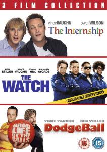 The Internship/The Watch/Dodgeball Triple Pack
