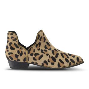 Senso Women's Beatrix Pony Hair Ankle Boots - Leopard
