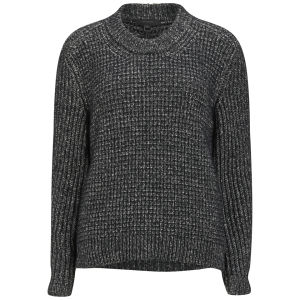 Belstaff Women's Rorrington Chunky Knit Boxy Jumper - Black
