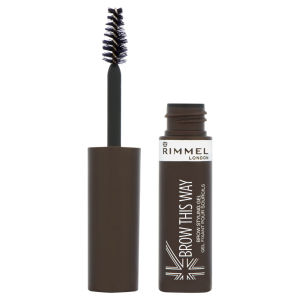 Rimmel Brow This Way Eyebrow Gel - Marrón oscuro