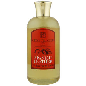 Trumpers Spanish Leather Hair and Body Wash - 200ml Travel