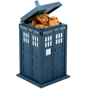 Dr Who Tardis Lights and Sounds Cookie Jar