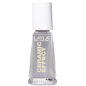 Layla Cosmetics Ceramic Effect Nail Polish N.16 Grey Power (10ml)
