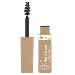 Rimmel Brow This Way Eyebrow Gel - Blonde