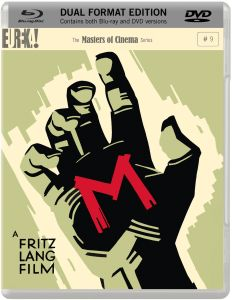 Fritz Lang's M - (Masters of Cinema) Dual Format (Blu-ray and DVD)