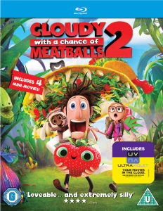 Cloudy with a Chance of Meatballs 2 (Bevat UltraViolet Copy)