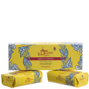 Agua de Colonia Eau de Cologne Creme Soap Twin Box